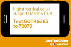 High Street Deal supports Martha Trust