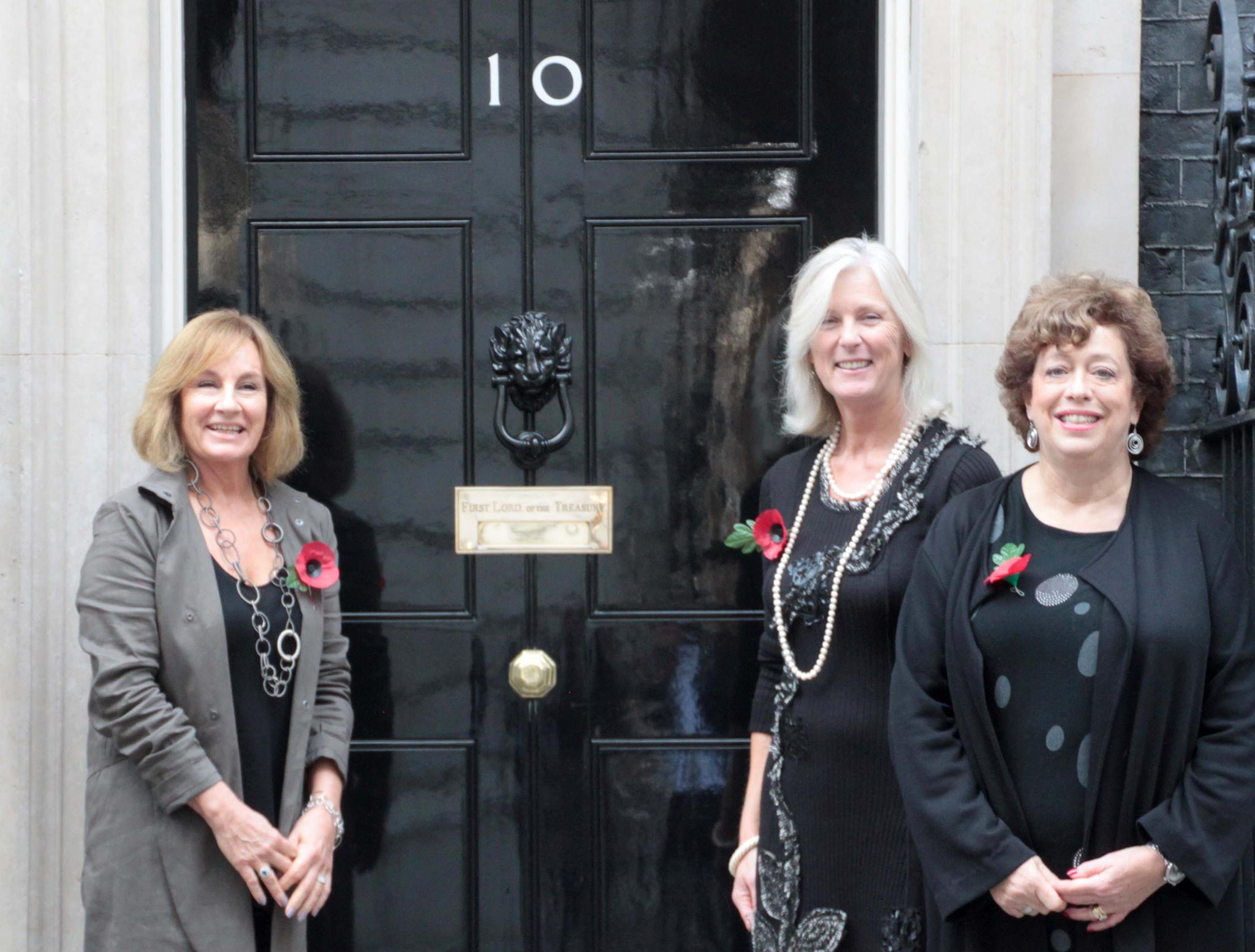 Goodwin Sands Stop the Dredge petition delivered to Downing Street