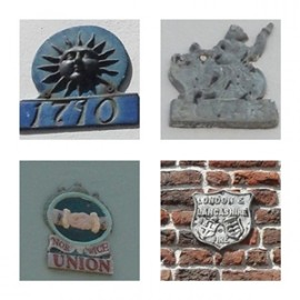Fire Insurance Plaques