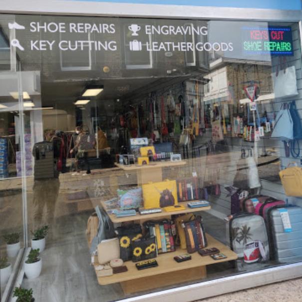 Longshore leather goods, Deal, Kent