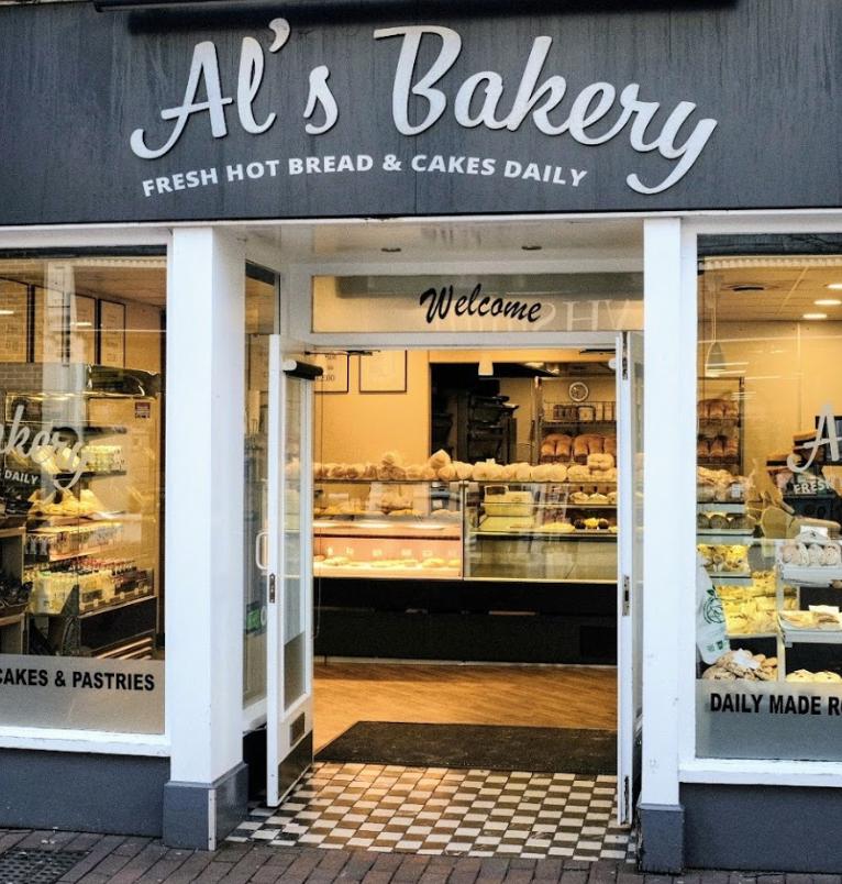 Al's Bakery, Deal, Kent