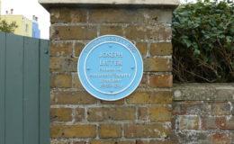 Blue Plaque, The Coast House, Joseph Lister