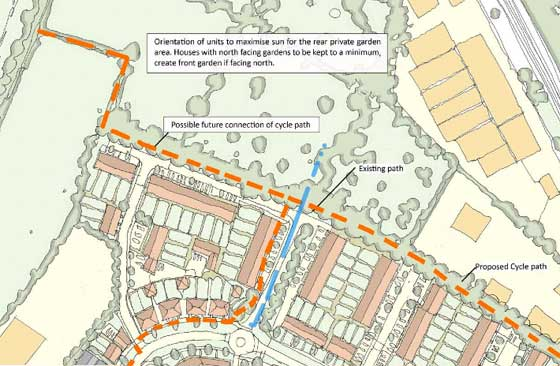 Deal to Sholden cycle path
