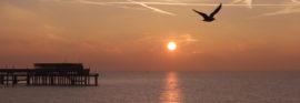 Deal Pier at sunrise copyright Pat Wilson