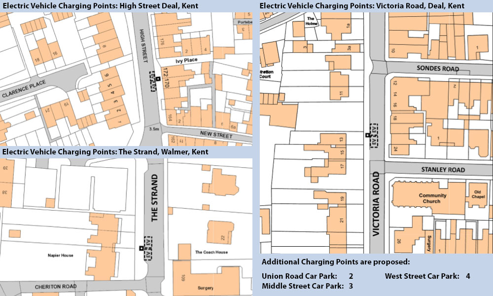 Electric Vehicle Charging Points in Deal Kent