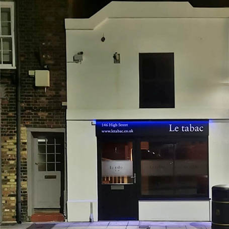 Le Tabac Bar, High Street, Deal, Kent