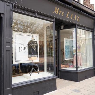 Mrs Lang, unique clothing, High Street, Deal, Kent