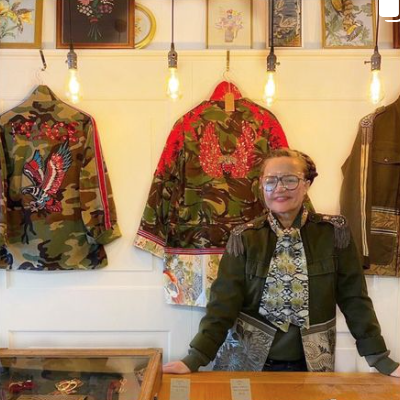 Mrs Lang, upcycled clothing, High Street, Deal, Kent