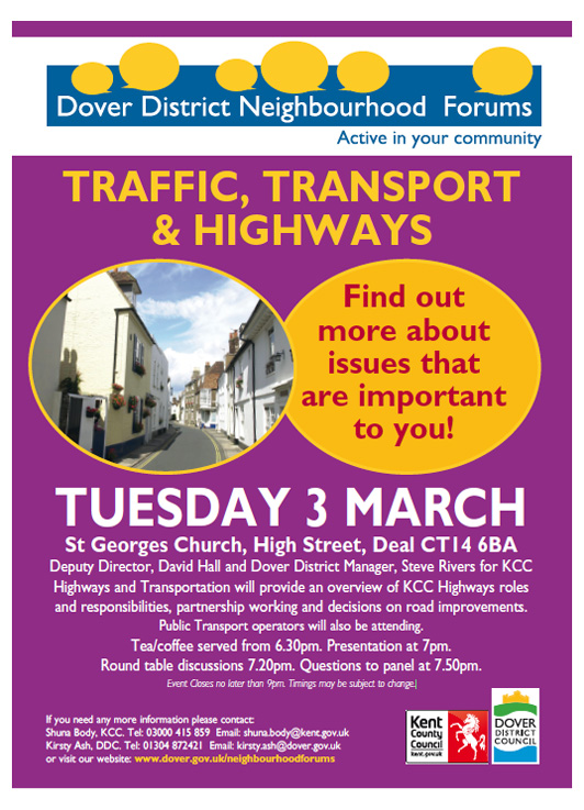 Deal Neighbourhood Forum 3rd March 2015