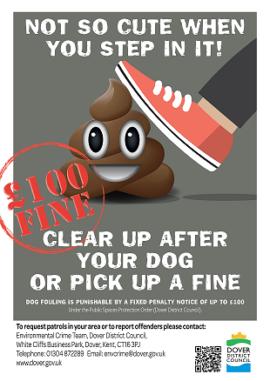 Dover Dog Litter Poster