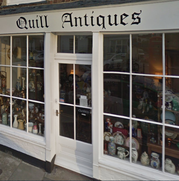 Quill Antiques, Alfred Square, Deal, Kent