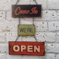 Deal, High Street. Come in, We're open