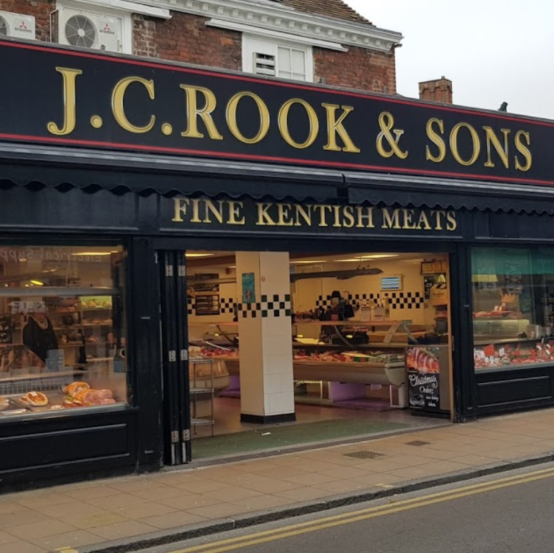 Rook and Sons Butchers, High Street, Deal, Kent