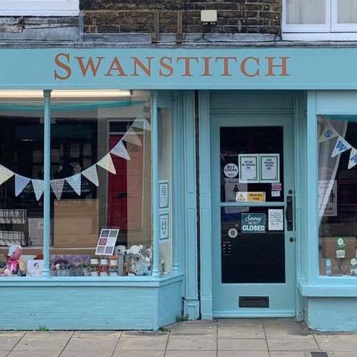 Swanstitch, Knitting, Crochet, Needlework, Haberdashery, Deal, Kent