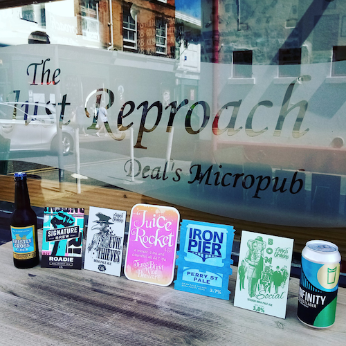 The Just Reproach Micropub, Deal, Kent