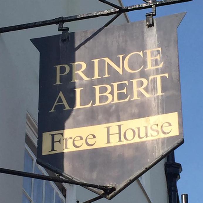 Prince Albert, Alfred Square, Deal, Kent